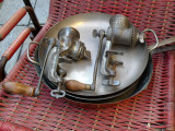 Old  meat grinder machines