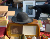 Old priest's hat