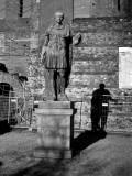 The shadow of the Emperor JULIUS CAESAR