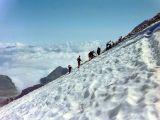 Aneto, dernières pentes avant le sommet