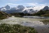 Lac Lérié, Glacier du Rateau et Meije