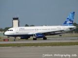 Airbus A320 (N715JB) How's My Flying? Call 1-800-JetBlue