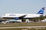 Airbus A320 (N639JB) A Little Blue Will Do