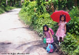 Kids on the way to school