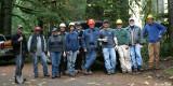 Cedar Plank Cutting Work Party, Nov 9, 2012
