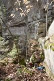 Meriba Fork Gorge