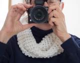 Crocheted Round Scarf