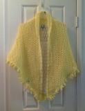 Crochet shawl for summer