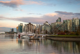 Vancouver Harbour at Sunset