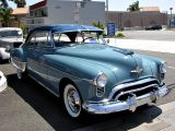 1950 Oldsmobile 88 Holiday Coupe. What a thrill to take the wheel of a Rocket Oldsmobile!!!