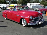 1949 Plymouth Special Deluxe Convertible........Plymouth's first all-new post war design
