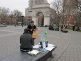 January 13-14, 2013 Photo Shoot - Washington SQ Park & LaGuardia Place