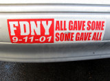 FDNY 9-11-01 - All Gave Some, Some Gave All