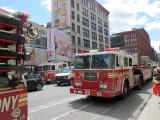 Fire/Bomb Alarm at Subway Station