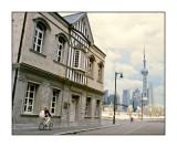 外灘和東方明珠,上海