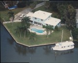 Aerial photos of Whitaker Bayou, Sarasota, 1948 and later