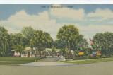Paradise Court Postcard, Front