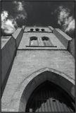 Arch, Stone, Clouds