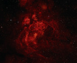 NGC 6357 Pismis 24 The Lobster (War and Peace) Nebula