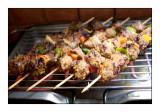 Brochettes au barbecue - 0075