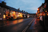 Castleton's Christmas Lights in The High Peak District