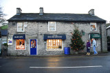 Castleton Blue John Shop at Christmas