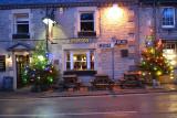The main Street Christmas Lights in Castleton