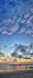 Vertical Jimbaran Sunset