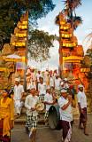Procession Entering Temple