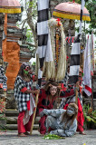Scene from Barong Dance