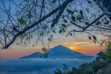 Morning on Mount Batur