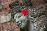 Flowers Adorn both Temples & Businesses