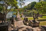 Entrance to Taman Ujung Water Palace