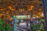 Entrance at Balique Vintage Cafe / Resturant
