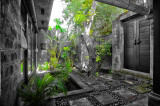 Interior entry of one of  Mango Tree's private villas