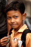 Jimbaran school boy