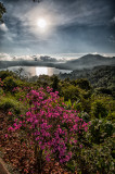 Overlook of Tamblingan Lake.