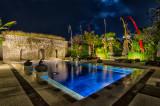 Pool By Full Moon