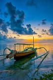 Jukung at Sunrise