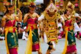 Dancers at temple anniversary celebration