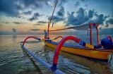 Colorful Jukung