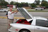 Steve Pasteiner demonstrates functional hatch