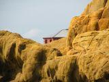House amongst the yellow rocks