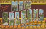 New Orleans In Old Post Cards
