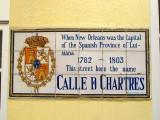 Calle D Chartres → Rue de Chartres → Chartres Street