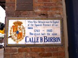 Calle D Borbon → Rue Bourbon → Bourbon Street
