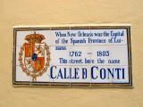 Calle D Conti → Rue Conti → Conti Street