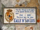 Calle D San Luis → Rue St. Louis → St. Louis Street