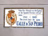 Calle D San Pedro → Rue Pierre → St. Peter Street