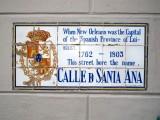 Calle D Santa Ana → Rue Ste Anne → St. Ann Street
